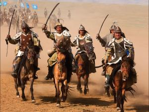 The Mongol armies rampage